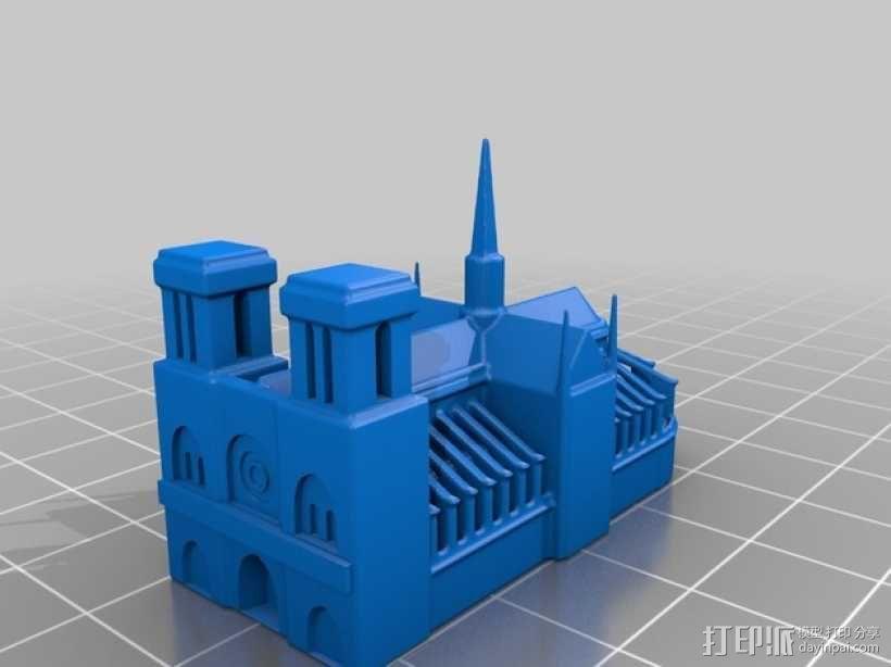 巴黎著名的建筑 3D模型  图6