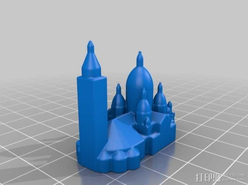 巴黎著名的建筑 3D模型  图8