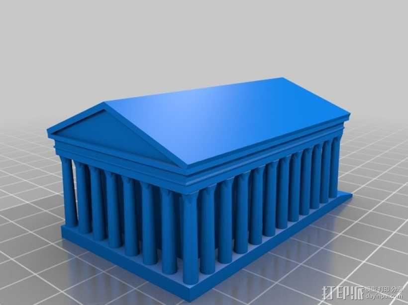 巴黎著名的建筑 3D模型  图5