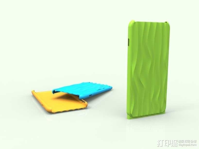 iphone6 手机外壳 3D模型  图3