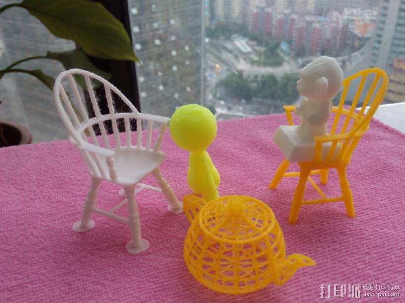 椅子 3D打印制作  图4