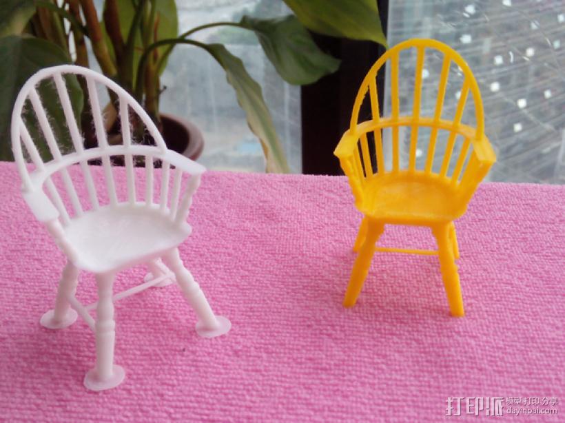 椅子 3D打印制作  图1