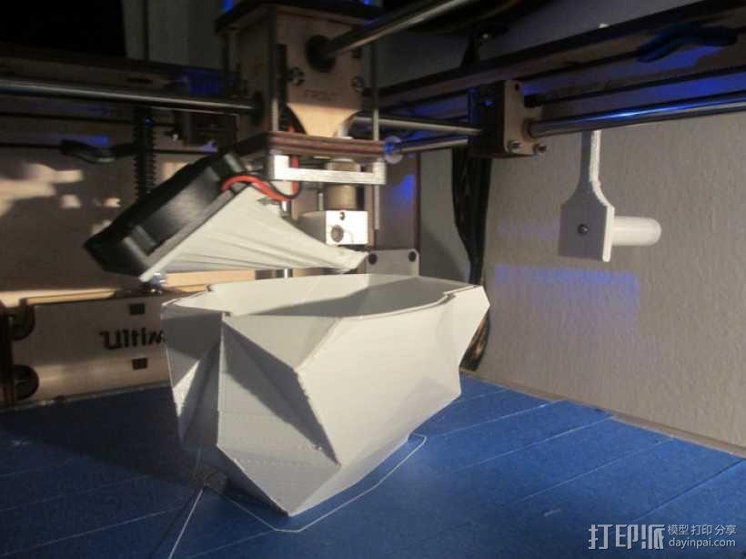 几何形灯罩模型 3D模型  图3
