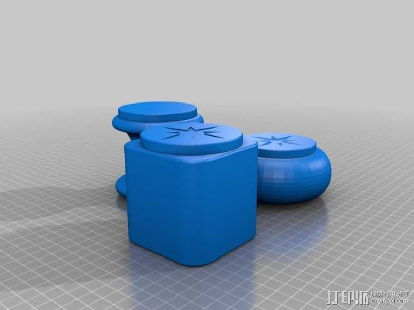 个性化礼物盒模型 3D模型  图1