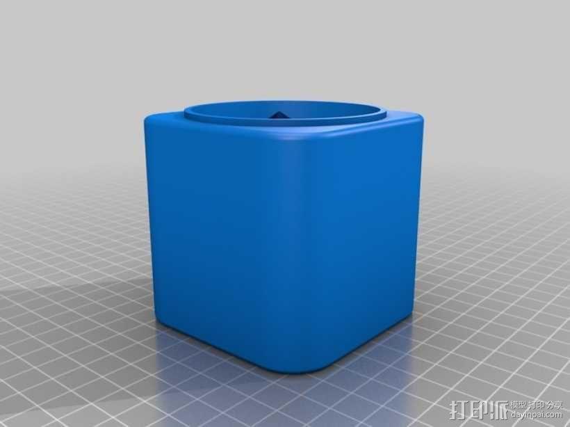 个性化礼物盒模型 3D模型  图3