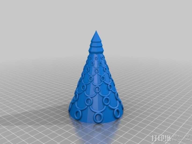 圣诞树模型01 3D模型  图9