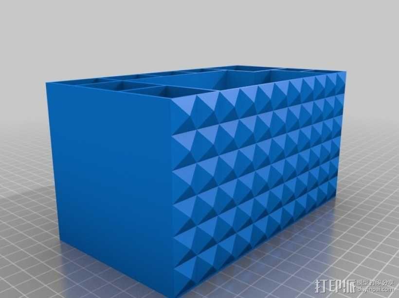 多功能牙刷盒模型 3D模型  图1