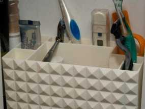 多功能牙刷盒模型 3D模型