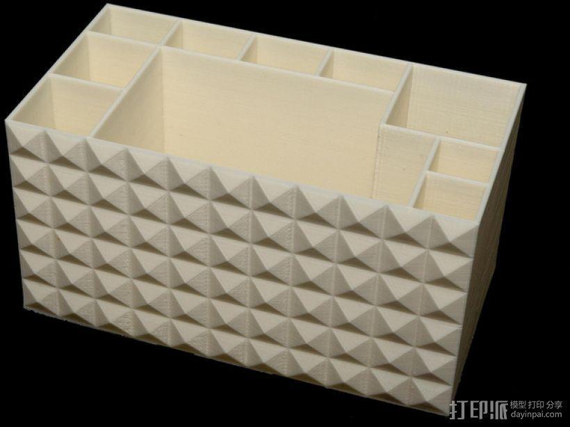 多功能牙刷盒模型 3D模型  图2