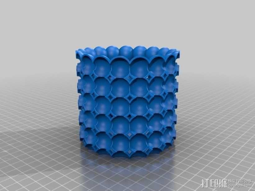 个性化花盆模型 3D模型  图1