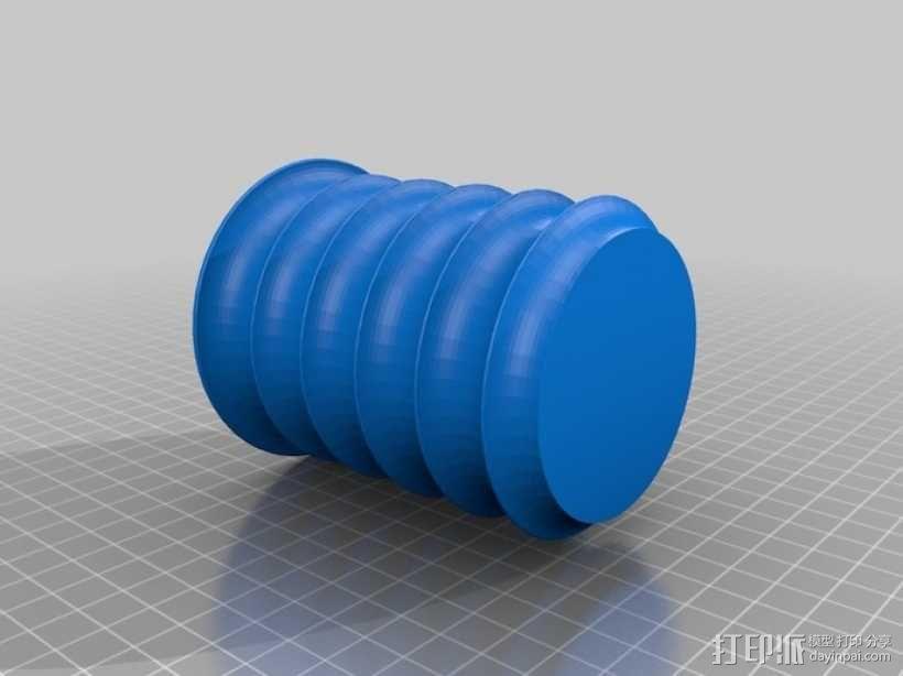 个性化花盆模型 3D模型  图2
