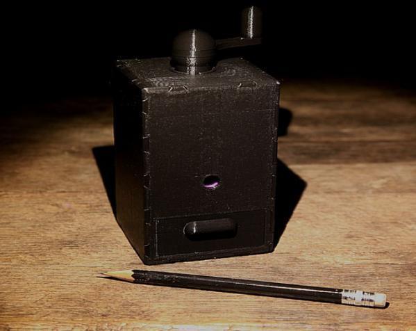 铅笔卷笔刀模型 3D模型  图3