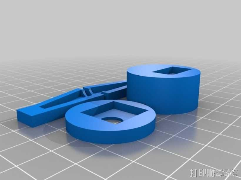 铅笔卷笔刀模型 3D模型  图11