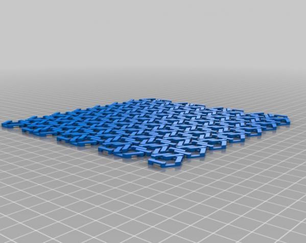 雪花形锁子甲模型 3D模型  图8