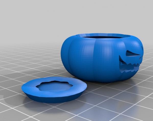 迷你南瓜灯模型 3D模型  图3