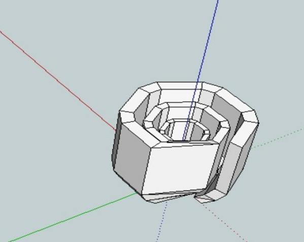 数字化玫瑰模型 3D模型  图4
