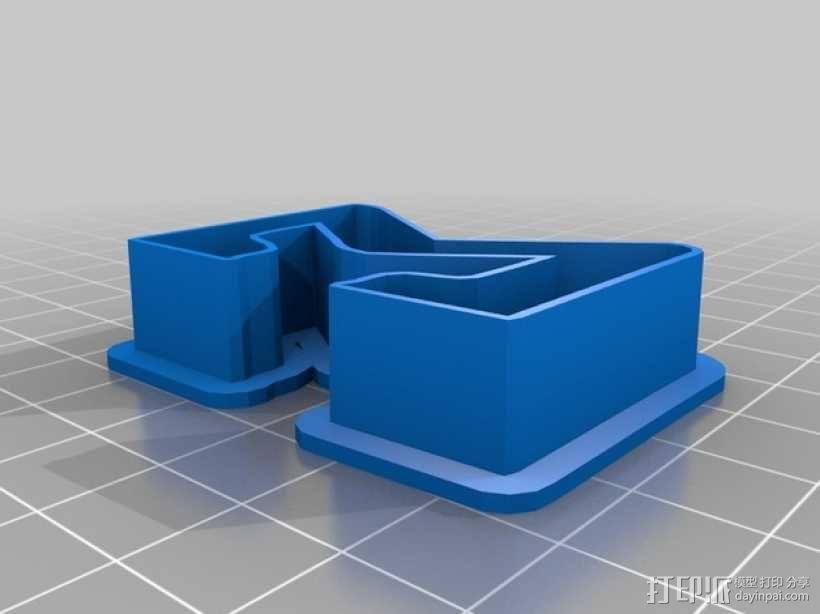 数字饼干模型切割刀套件 3D模型  图6