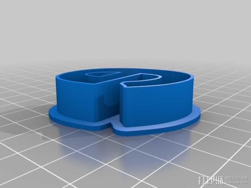 数字饼干模型切割刀套件 3D模型  图7