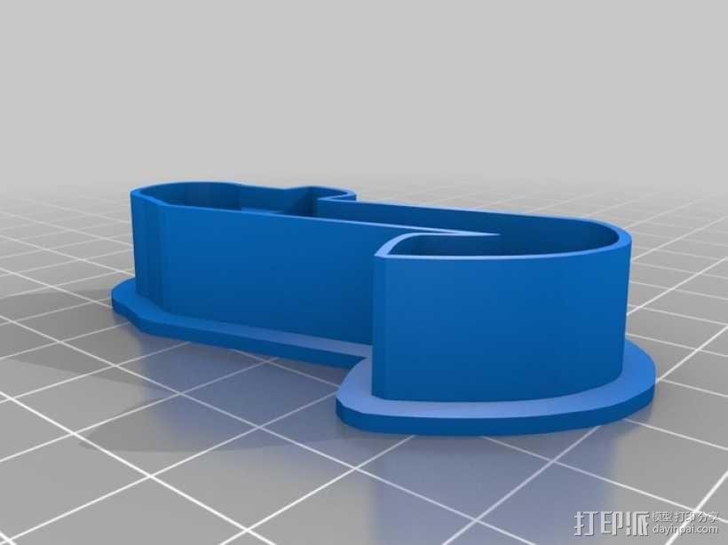 数字饼干模型切割刀套件 3D模型  图8