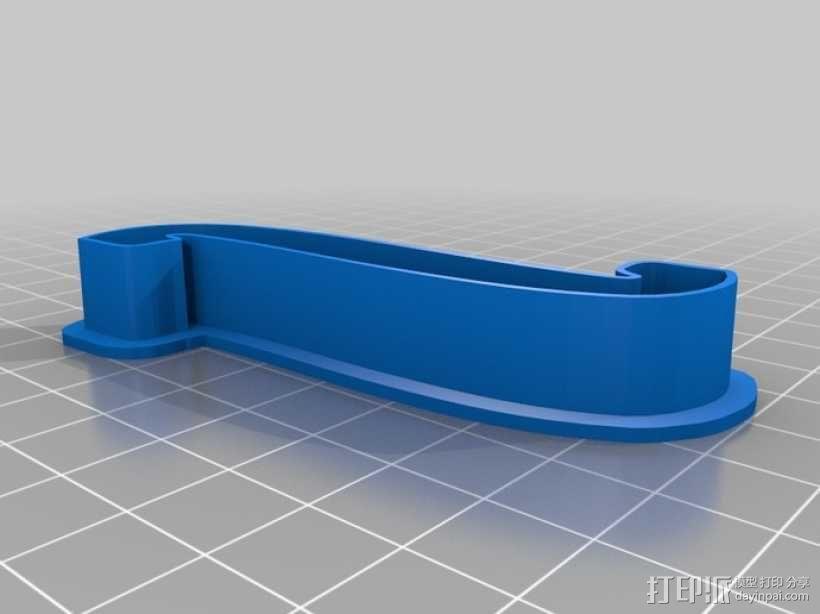 数字饼干模型切割刀套件 3D模型  图9
