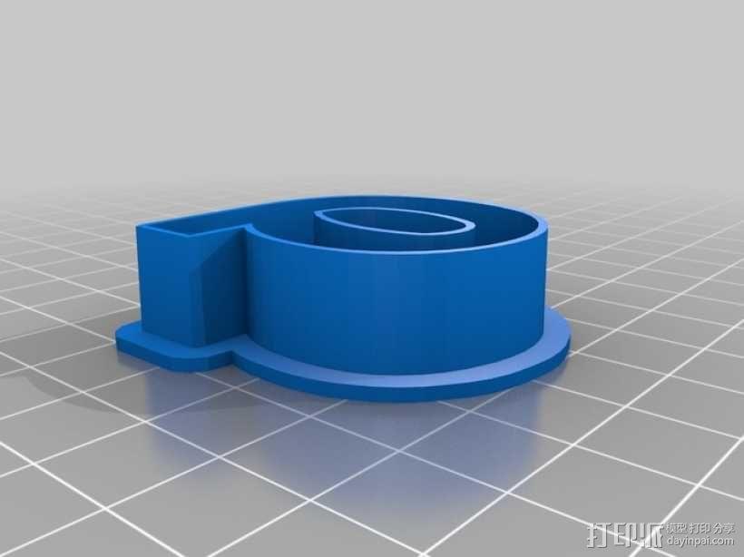 数字饼干模型切割刀套件 3D模型  图10