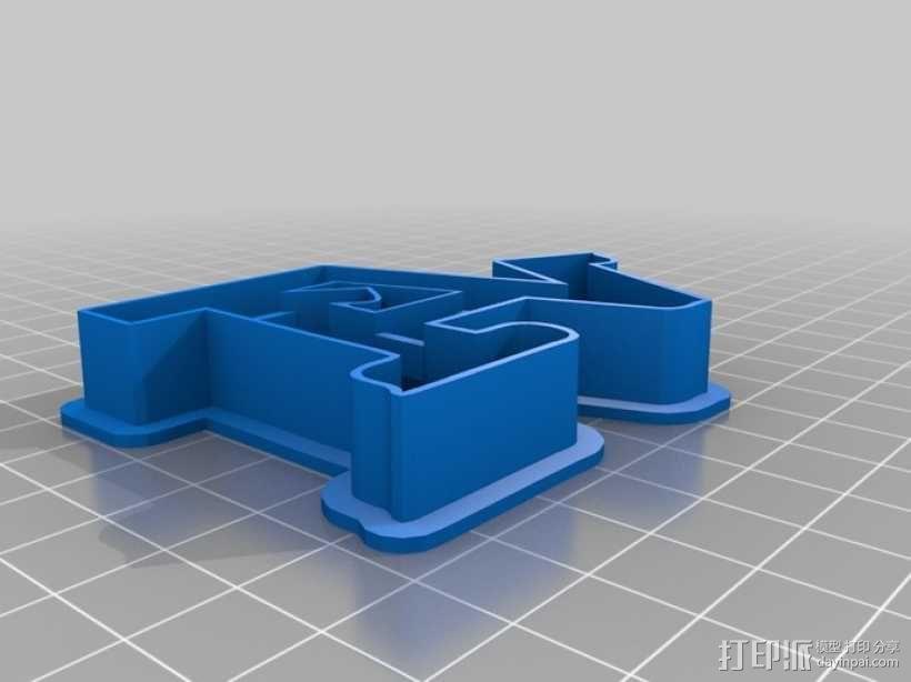 数字饼干模型切割刀套件 3D模型  图13