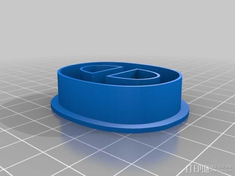 数字饼干模型切割刀套件 3D模型  图14