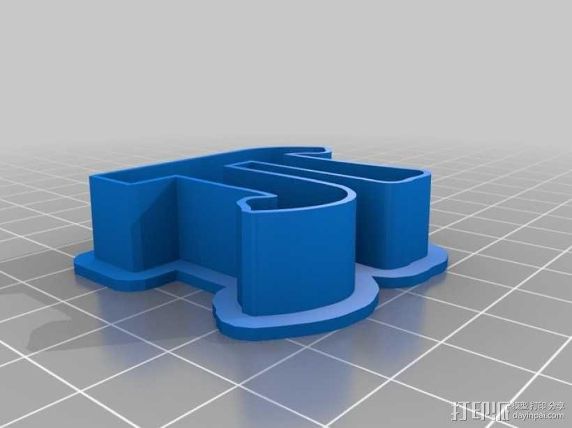 数字饼干模型切割刀套件 3D模型  图12