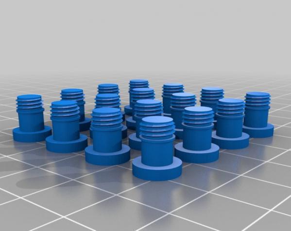 装饰性花园栅栏模型 3D模型  图1