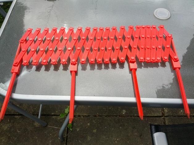 装饰性花园栅栏模型 3D模型  图3