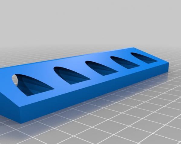 笔夹固定器模型 3D模型  图2