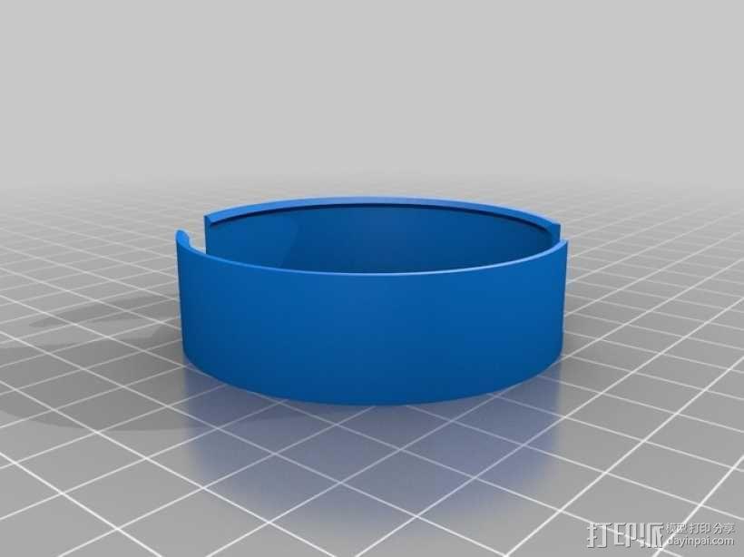 阴阳电缆线轴模型 3D模型  图7