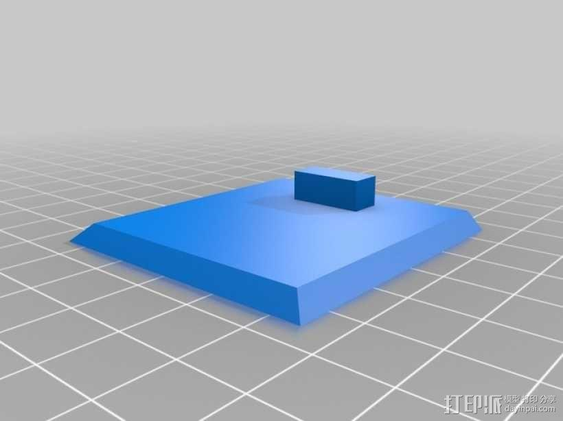 参数化带锁小箱子模型 3D模型  图4