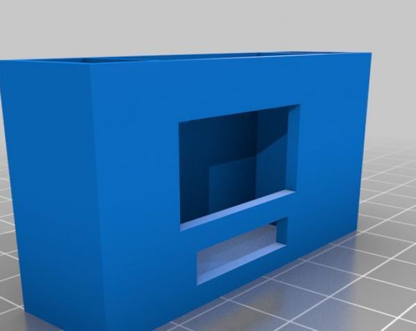 3D打印挂锁模型 3D模型  图2