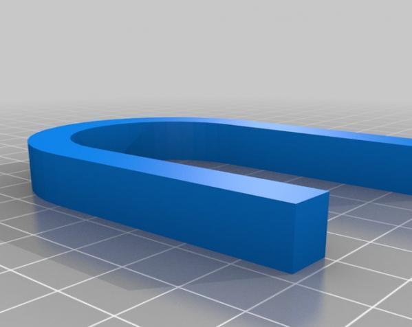3D打印挂锁模型 3D模型  图3
