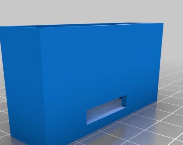 3D打印挂锁模型 3D模型  图1