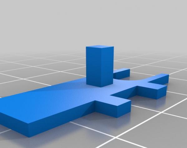 3D打印挂锁模型 3D模型  图4
