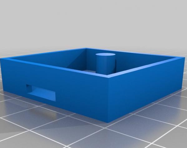 3D打印挂锁模型 3D模型  图5