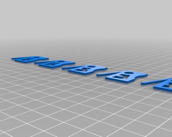 3D打印挂锁模型 3D模型  图6