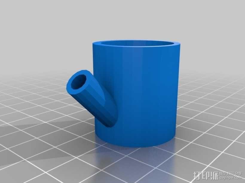水龙头喷水器模型 3D模型  图2