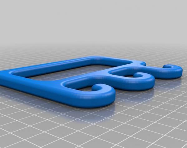 夹袋器模型 3D模型  图4