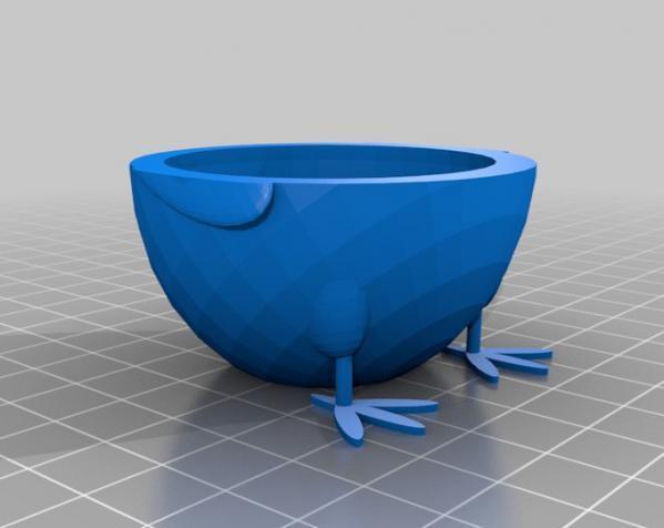 鸡蛋杯模型 3D模型  图2