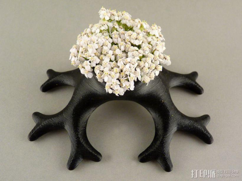 树根花瓶/花盆模型 3D模型  图4