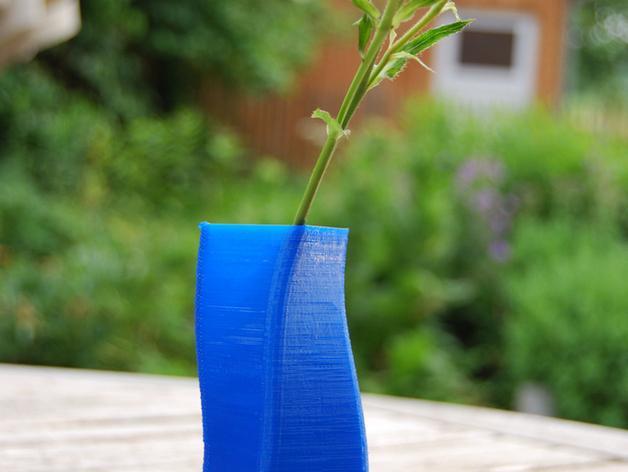 矩形花瓶模型 3D模型  图2