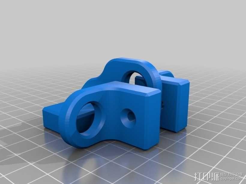 迷你锁装置套件 3D模型  图4