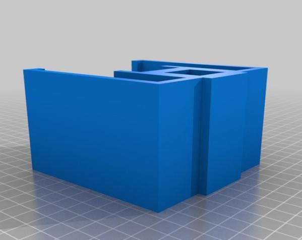 骷髅头形多功能盒模型 3D模型  图7