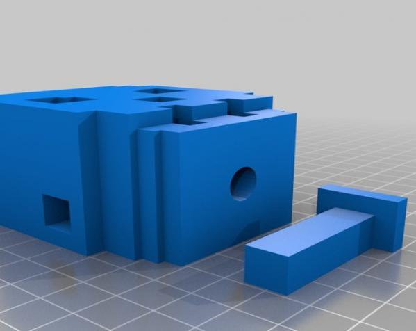 骷髅头形多功能盒模型 3D模型  图8