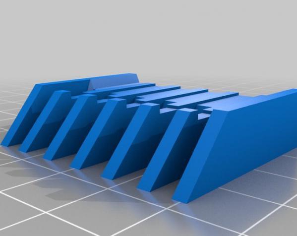 电动剃须刀配件模型 3D模型  图1
