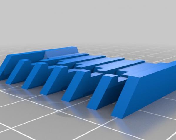 电动剃须刀配件模型 3D模型  图3