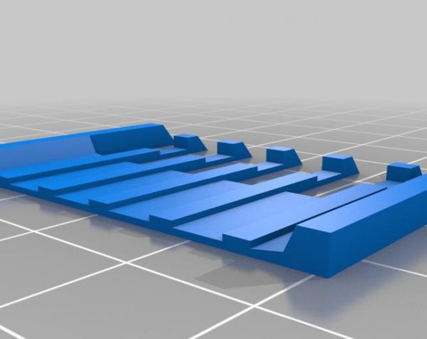 电动剃须刀配件模型 3D模型  图2